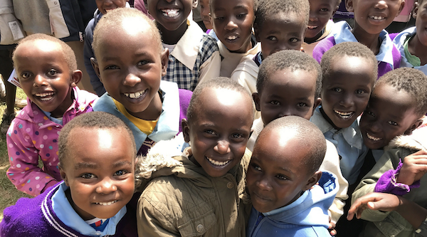 School children in Kenya —Innov8 Africa