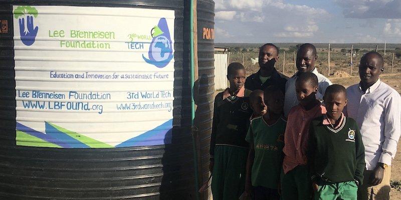 Ntuka Kids with water tank - Clean Water module - Innov8 Africa