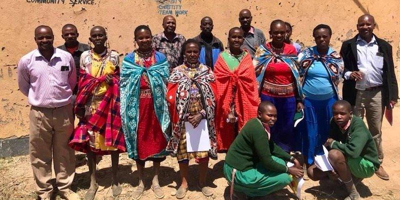 Maasai Beekeeping Initiative beekeeping meeting —Innov8 Africa