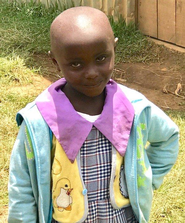 Happy little girl – Innov8 Africa