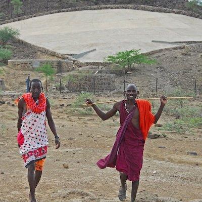 School Board Leaders at Hillside Catchment - Clean Water module -Innov8 Africa
